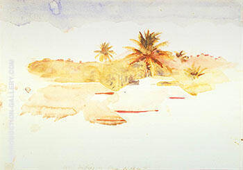 West Indies By Abbott H Thayer - Oil Paintings & Art Reproductions - Reproduction Gallery