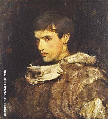 William Michael Spartali Stillman 1905 By Abbott H Thayer Replica Paintings on Canvas - Reproduction Gallery