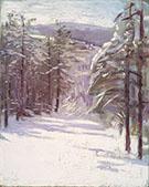 Winter Scene 1901 By Abbott H Thayer