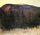 Winter Sunrise Monadnock 1917 By Abbott H Thayer