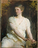 Young Woman 1898 By Abbott H Thayer
