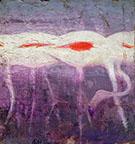 White Flamingoes 1905-09 By Abbott H Thayer