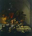 Stillleben mit Obst By Abraham Mignon