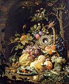 Still Life in a Bird's Nest By Abraham Mignon