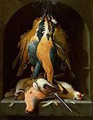 Still Life of Birds By Abraham Mignon