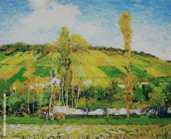 An Autumn Afternoon Giverny c 1910 By Alson Skinner Clark