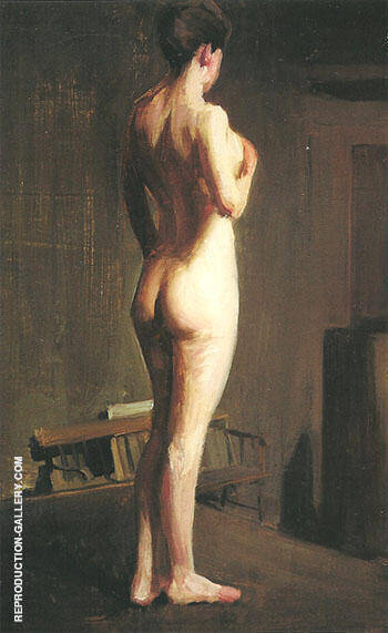 Early Nude c 1898 By Alson Skinner Clark