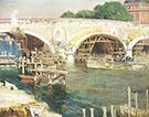 The Bridge Builders 1904 By Alson Skinner Clark