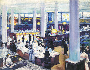 Carson Pirie Scott Department Store 1905 Painting By Alson Skinner Clark