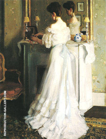 The Necklaces Les Colliers 1905 By Alson Skinner Clark