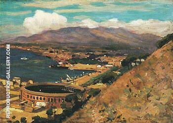 The Rising Sun Malaga c 1909 By Alson Skinner Clark