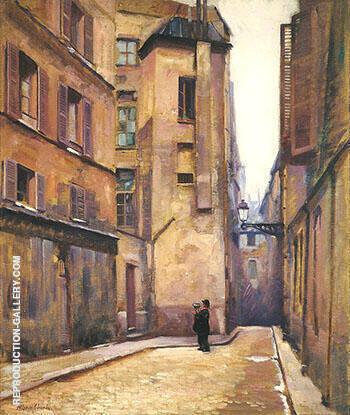 Paris c 1910 By Alson Skinner Clark