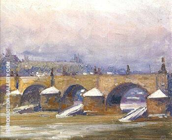 Charles Bridge Prague 1912 By Alson Skinner Clark