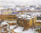 Over the City Prague 1912 By Alson Skinner Clark