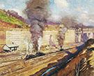 Work at Miraflores c 1913 By Alson Skinner Clark