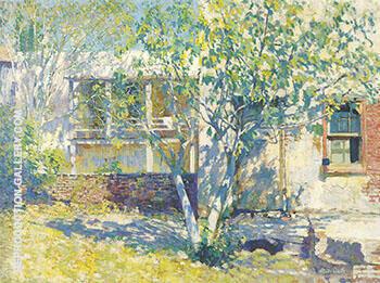 Miss Mattew's Kitchen c 1917 By Alson Skinner Clark