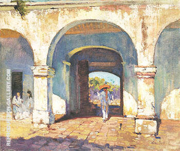 Sol y Sombra 1923 By Alson Skinner Clark Replica Paintings on Canvas - Reproduction Gallery