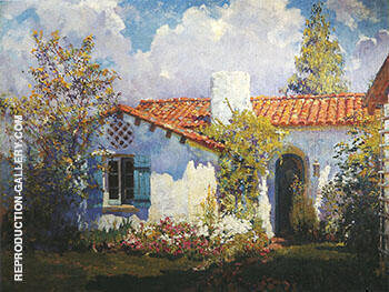 The Artist's Cottage c 1925 By Alson Skinner Clark