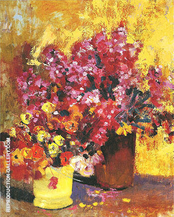 Reproduction of Floral Still Life c 1925 by Alson Skinner Clark | Oil Painting Replica On CanvasReproduction Gallery