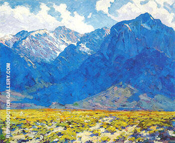 Mount Baxter Owens Valley c 1925 By Alson Skinner Clark Replica Paintings on Canvas - Reproduction Gallery
