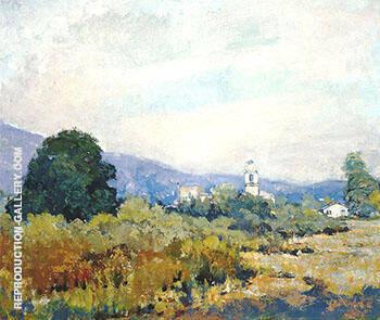 Monterey Park c 1925-28 By Alson Skinner Clark
