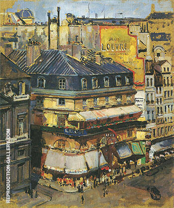 Rooftops Paris 1936 By Alson Skinner Clark Replica Paintings on Canvas - Reproduction Gallery