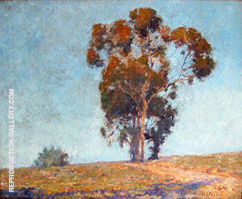 Altadena California 1924 By Alson Skinner Clark - Oil Paintings & Art Reproductions - Reproduction Gallery