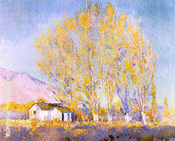 Autumn Blaze By Alson Skinner Clark - Oil Paintings & Art Reproductions - Reproduction Gallery