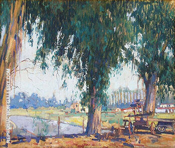 Big Tree 1925 By Alson Skinner Clark - Oil Paintings & Art Reproductions - Reproduction Gallery