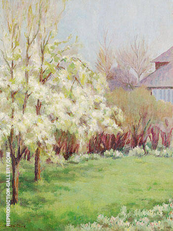 Flowering Trees By Alson Skinner Clark - Oil Paintings & Art Reproductions - Reproduction Gallery