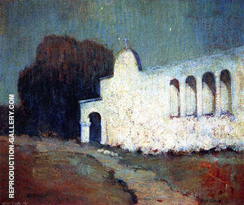 Moonlight San Juan Capistrano By Alson Skinner Clark Replica Paintings on Canvas - Reproduction Gallery