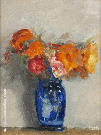 The Blue Vase By Alson Skinner Clark Replica Paintings on Canvas - Reproduction Gallery