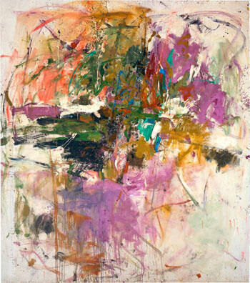 Untitled 1966 By Joan Mitchell - Oil Paintings & Art Reproductions - Reproduction Gallery