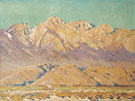 Eastern Sierra Landscape By Alson Skinner Clark