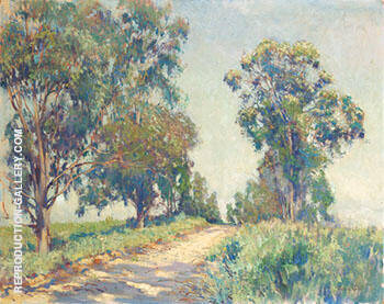 Eucalyptas Trees By Alson Skinner Clark Replica Paintings on Canvas - Reproduction Gallery