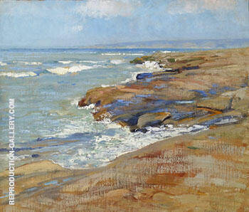 Laguna Beach 1924 By Alson Skinner Clark - Oil Paintings & Art Reproductions - Reproduction Gallery