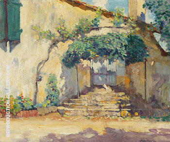 Old Pasadena Doorway 1928 By Alson Skinner Clark
