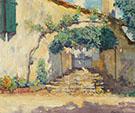 Old Pasadena Doorway 1928 By Alson Skinner Clark