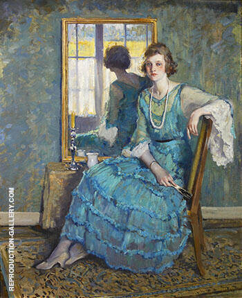 Reflection 1922 By Alson Skinner Clark