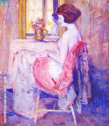 Reflections 1920 By Alson Skinner Clark