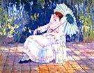 Reverie 1920 Medora on the Terrace By Alson Skinner Clark