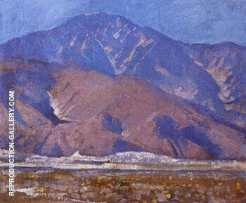 San Jacinto Mountains 1930 By Alson Skinner Clark Replica Paintings on Canvas - Reproduction Gallery