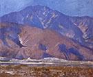San Jacinto Mountains 1930 By Alson Skinner Clark