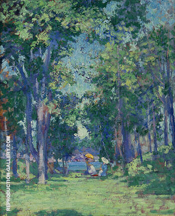 Summer Afternoon By Alson Skinner Clark