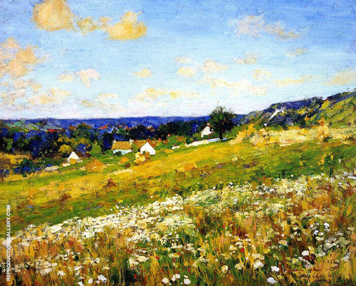 Summer Afternoon Giverny 1910 Painting By Alson Skinner Clark