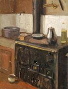 The Artist's Kitchen Paris 1903 By Alson Skinner Clark