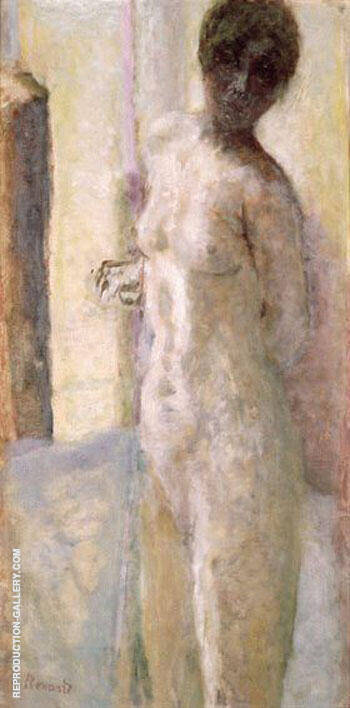 Nu Rose Tete Ombre By Pierre Bonnard - Oil Paintings & Art Reproductions - Reproduction Gallery