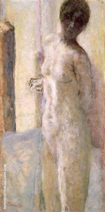 Nu Rose Tete Ombre By Pierre Bonnard