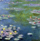 Water Lilies 24 By Claude Monet