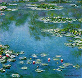 Water Lilies 1906 683 By Claude Monet